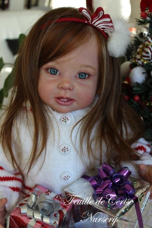 Adèle - reborn toddler fille