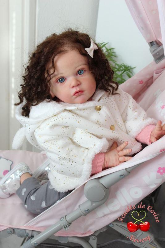 Deborah - reborn toddler fille