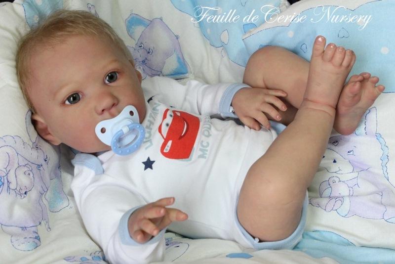 Thomas - bébé reborn garçon toddler