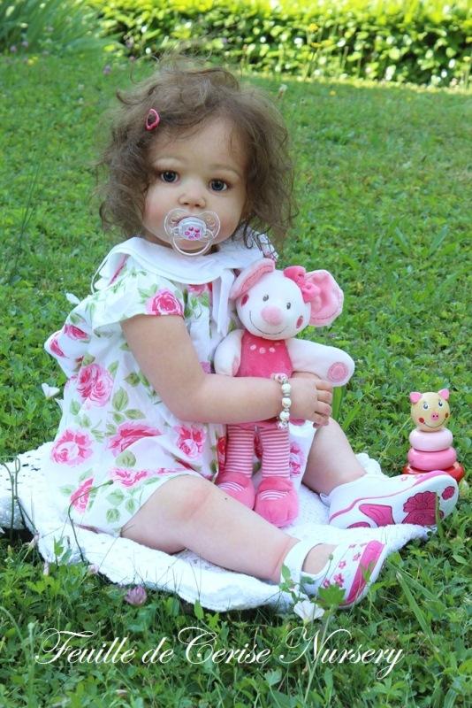 Emma - reborn toddler fille