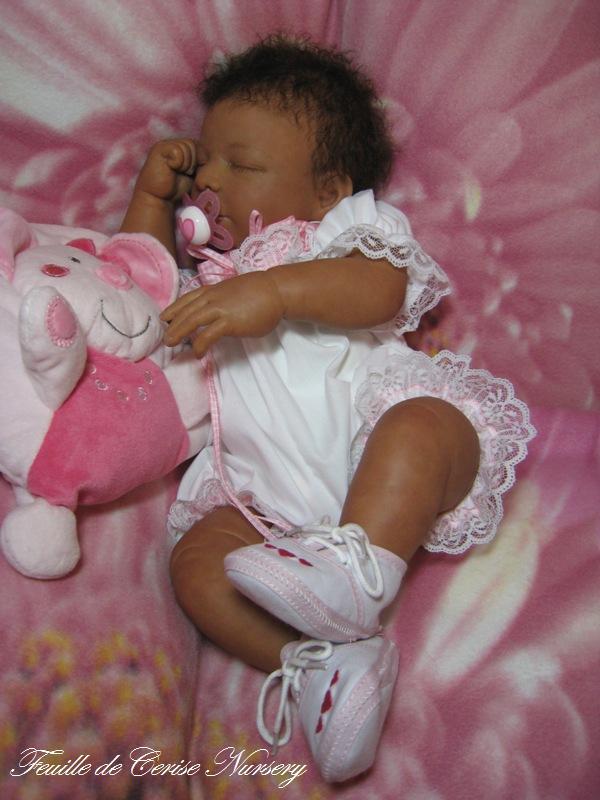 Shade - bébé reborn métisse