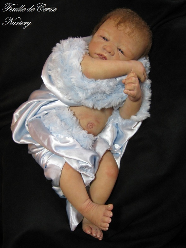 Adonis - bébé reborn garçon