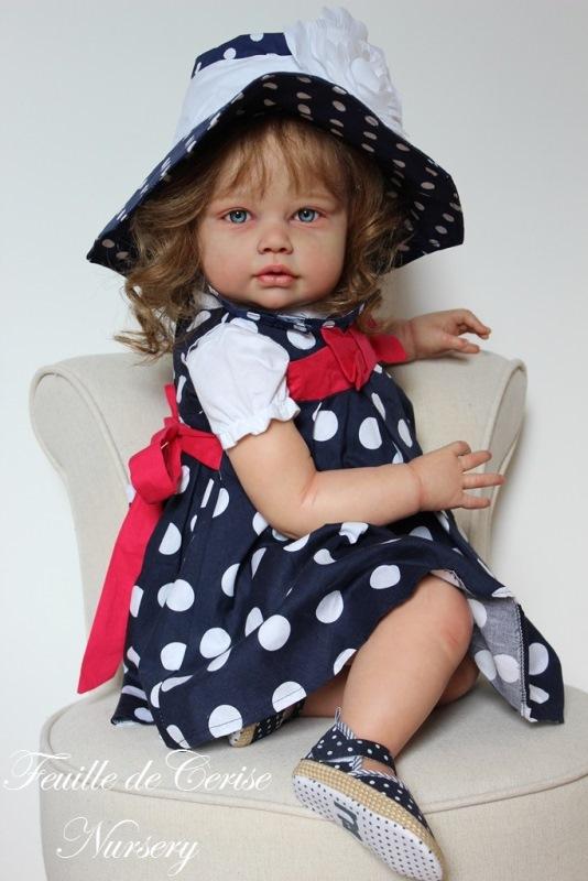 Alyson - reborn toddler fille
