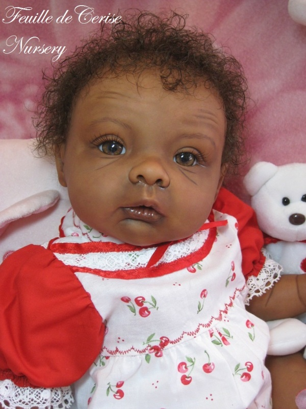Apollina - bébé reborn fille