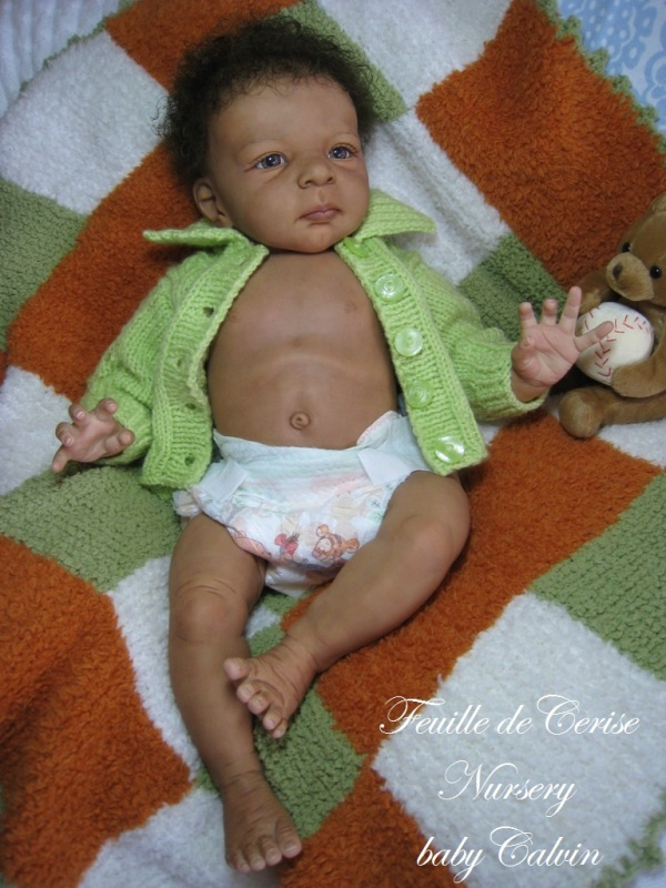 Calvin - bébé reborn garçon
