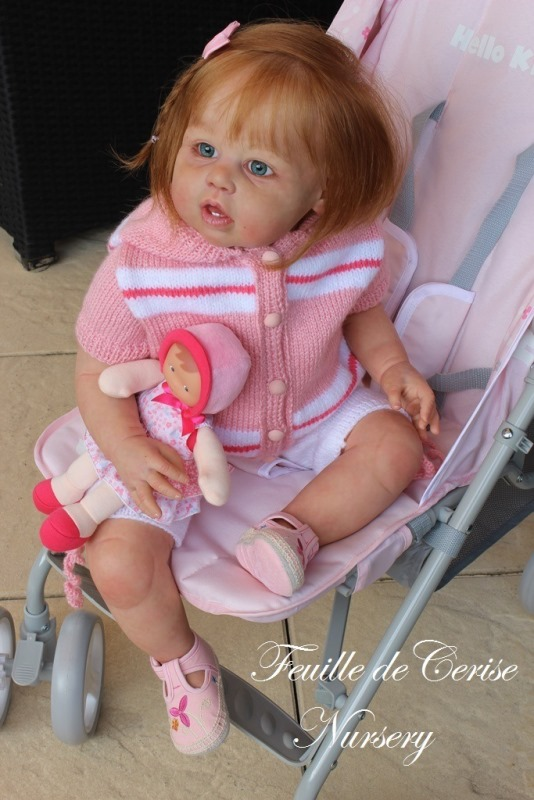 Candy - Prototype toddler reborn fille