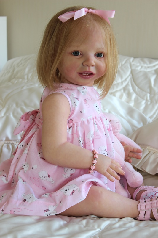 Capucine - reborn toddler sculpt Belinda by Danielle Zweers
