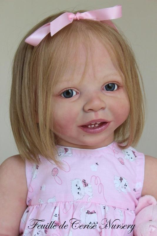Capucine - reborn toddler fille