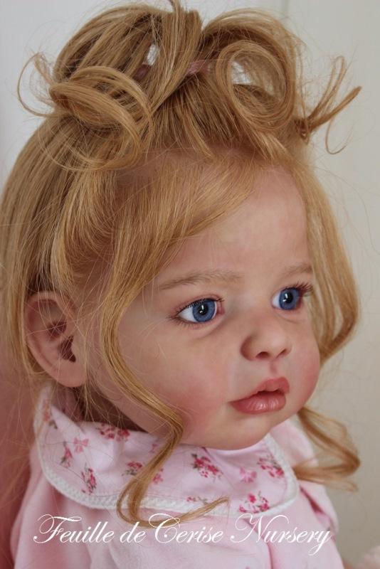 Carla - reborn toddler fille