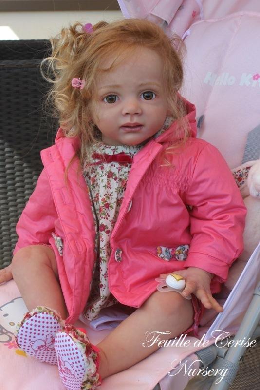 Caroline - reborn toddler fille