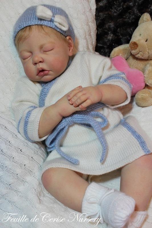 Chloé - bébé reborn fille