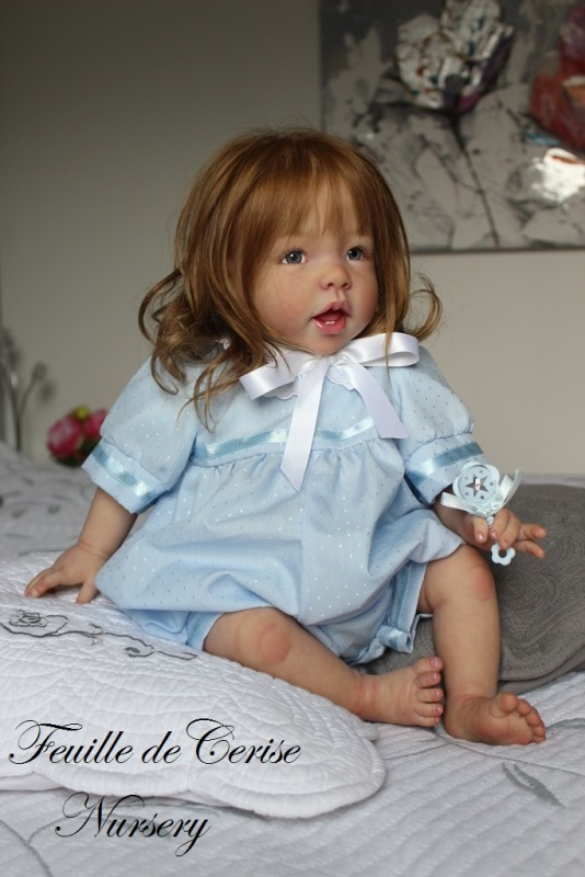 Clarisse - reborn toddler fille