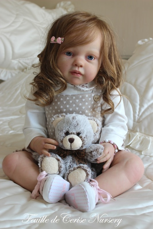 Eileen - reborn toddler petite fille