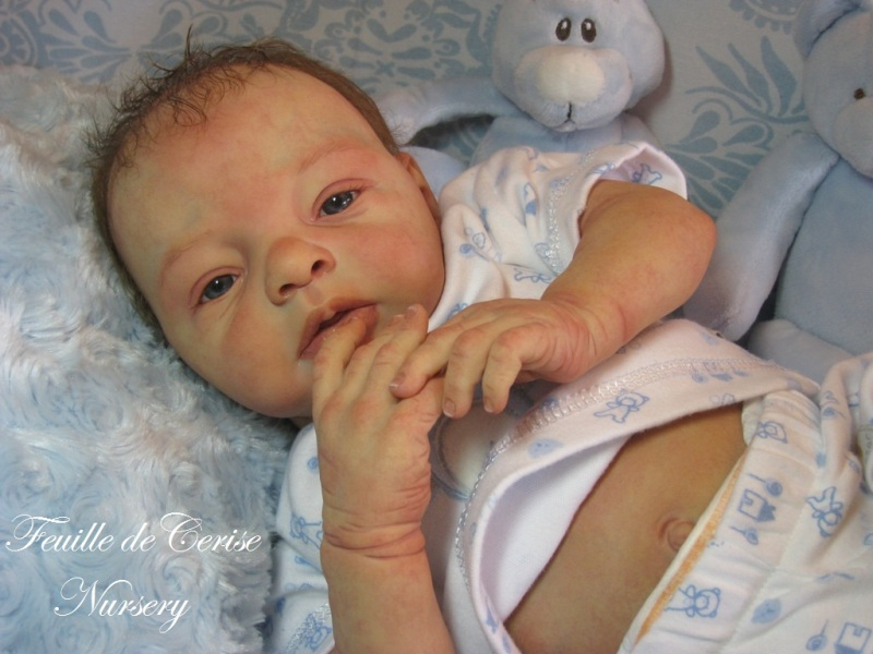 Léo - bébé reborn garçon