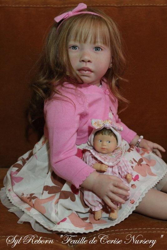 Lizzie - reborn toddler fille