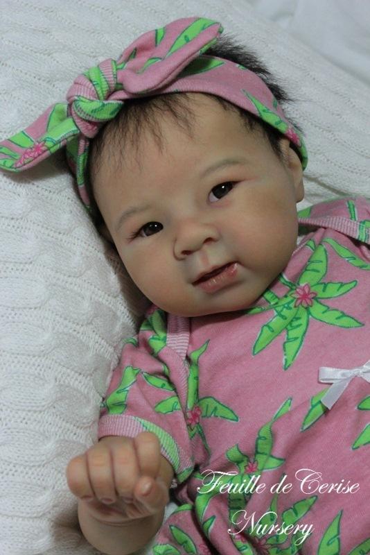 Mai Lan - bébé reborn fille