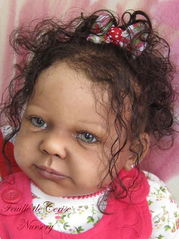Queisha - bébé reborn fille