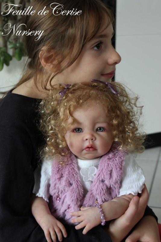 Shirley - reborn toddler fille