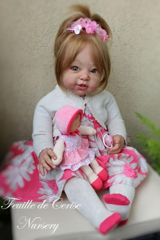 Suzie - reborn toddler fille