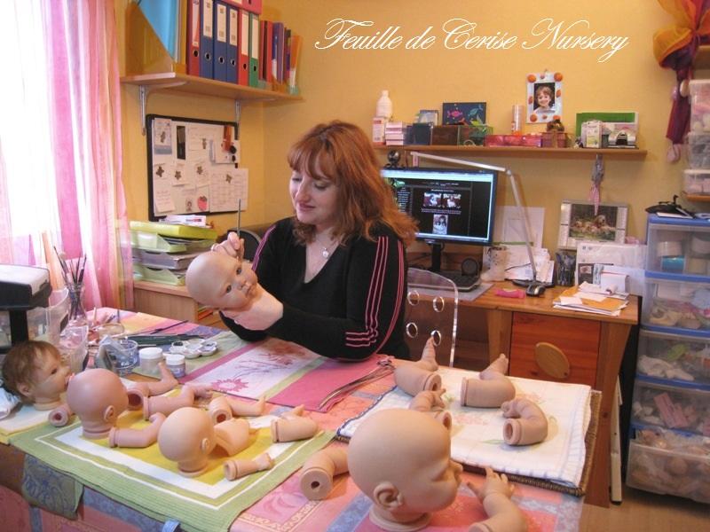 Sylvie BEDRA - FEUILLE DE CERISE NURSERY