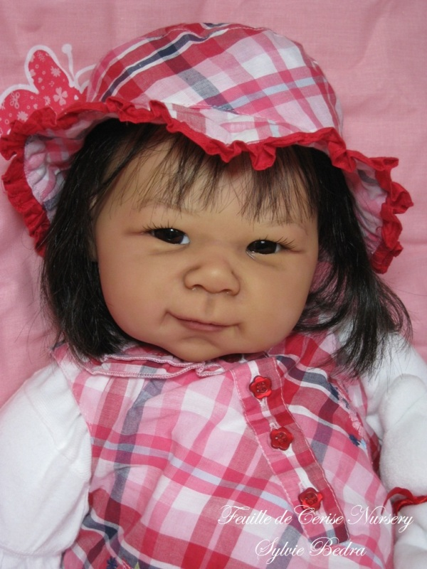 Tamika - bébé reborn fille